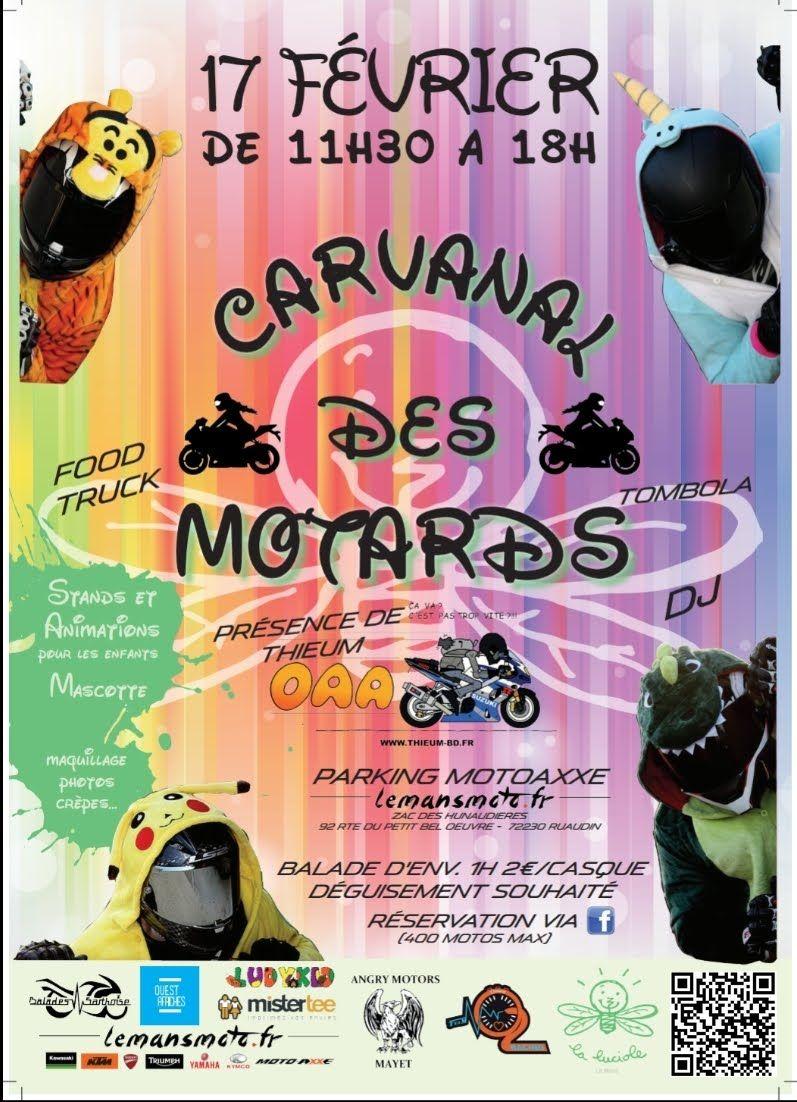SAM 17 FERVIER : CARNAVAL DES MOTARDS
